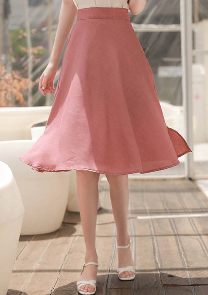 You Are My World A-Line Skirt