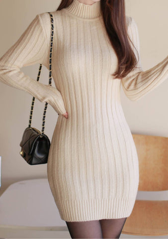 Meet In The Middle Knit Dress