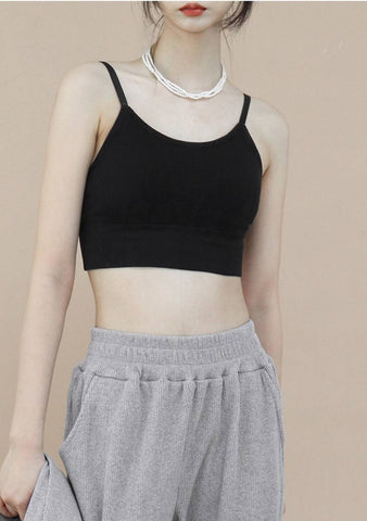 Come Sleeveless Top [Black]