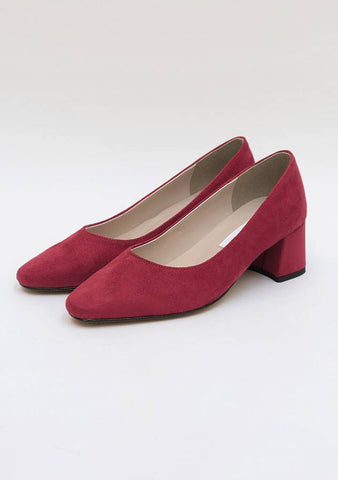 Wanted Suede 7 Colors Heels (5cm)
