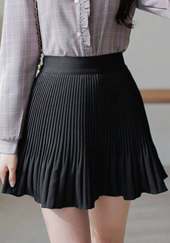 Good Things Are Pleated Skirt