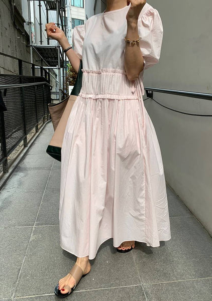 Every Experience Puff Long Dress