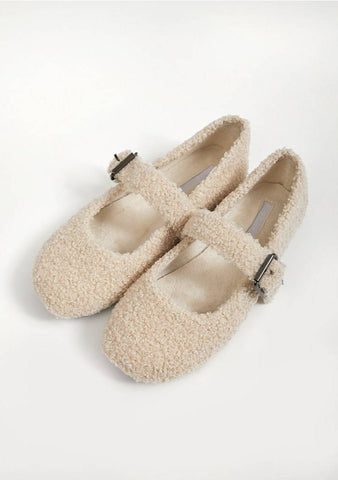 Walking On A Cloud Fleece Shoes