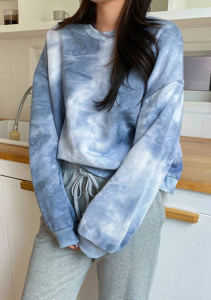 Cute Tie And Dye Sweatshirt
