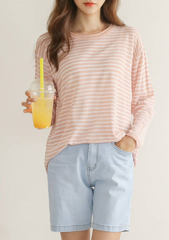 Who Feel Like Sunshine Stripes Knit Top