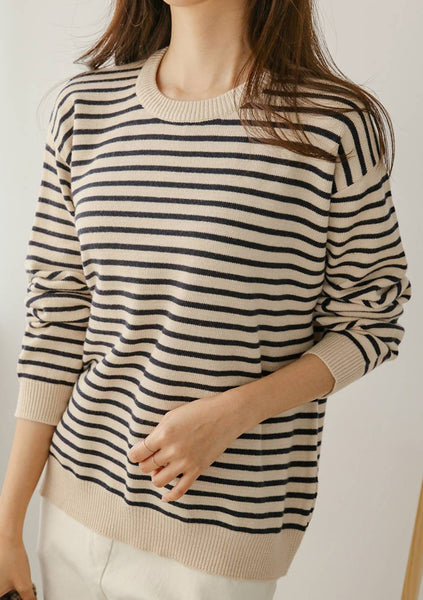The Night Before Stripes Knit Top