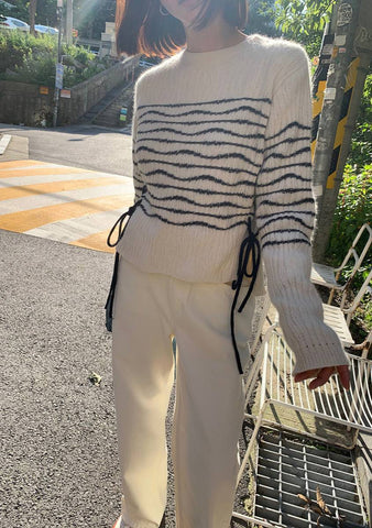 Go To Gallery Stripes Knit Top