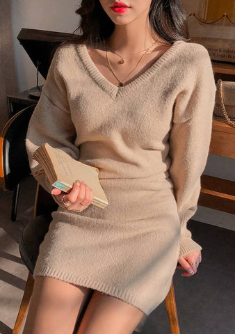 Different Leads Knit Dress
