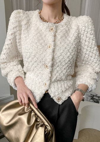 The Secrets Of The Universe Puff Cardigan