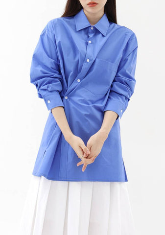 Full Wrap Shirt [Blue]