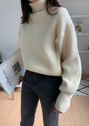 Wearing My Confidence Knit Sweater