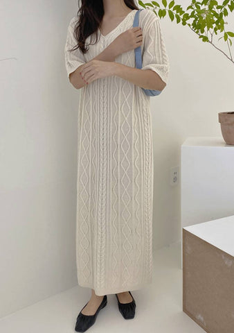 Silence Night Knit Dress