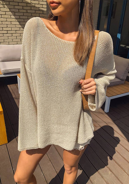 Remembering Sunday Knit Sweater