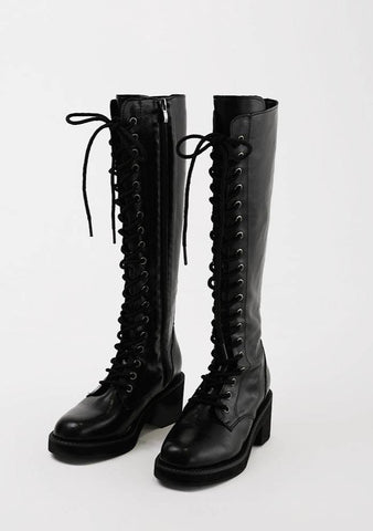 Lizzie Tie-Up Boots 5cm Shoes