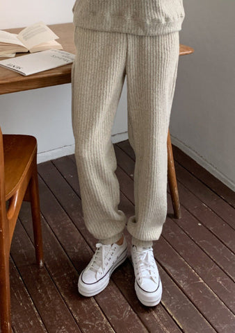 Playlist Of Your Dreams Knit Jogger Pants