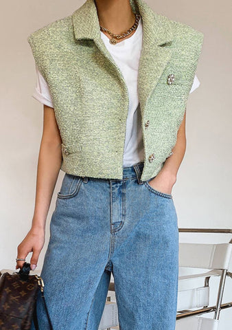 Stay In Your Magic Tweed Vest