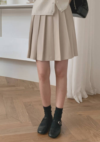 Wonderful Tonight Pleat Skirt