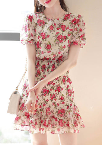 Remain By My Side Flower Dress