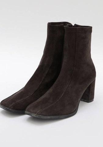 Club Suede Square Boots