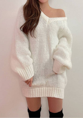 Femmine Snowfall Knit Dress