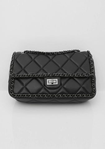 Community Quilted Clutch Bag
