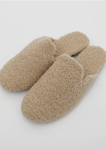 Just Hold On Fleece Slippers