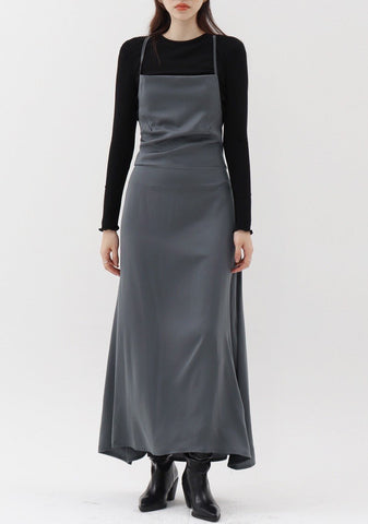 Nonstop Sleeveless Dress [Charcoal]
