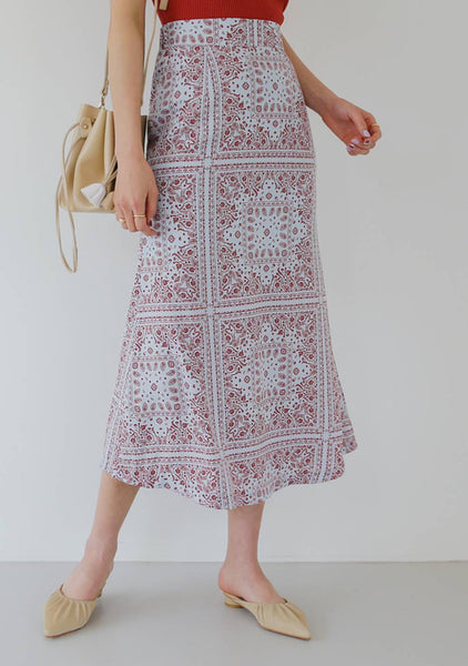 The Right To Ask Lace Long Skirt
