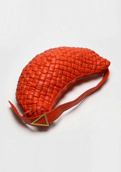 Tangerine Big Shoulder Bag