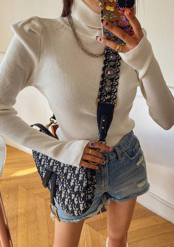 Absolutely True Turtleneck Knit Top