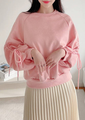 The Surprise Ruched Loose Sweatshirt