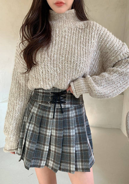 Bonnie Turtleneck Knit Sweater