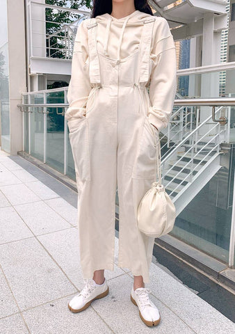 Casual Style String Jumpsuit