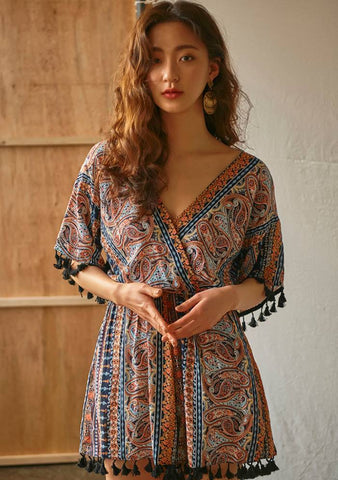 Ethnic Inspiration Jumpsuit