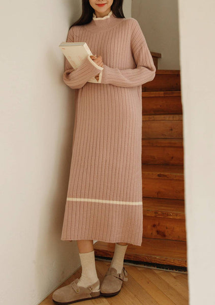 More Authenticity Ribbed Knit Dress
