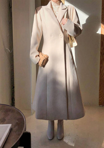 Captivating A-Line Coat