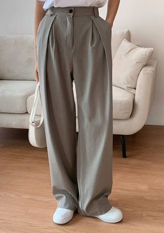 Mint Chocolate Wide Pants