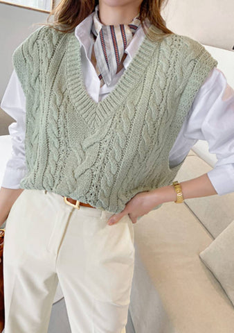 Blooming All Year Knit Vest