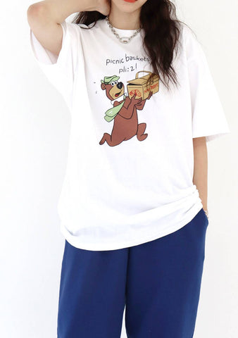 Bear T-Shirt [White]
