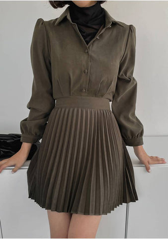 You Are Gold Baby Pleats Dress