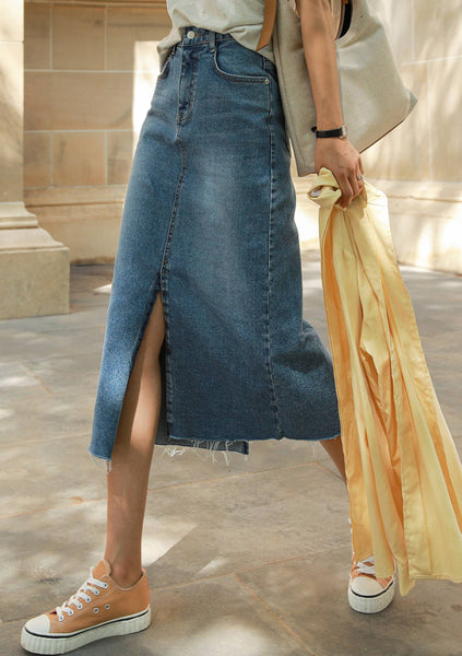 Forever Young Denim Skirt