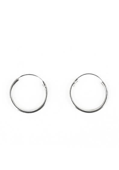 Let It Go Hoop Earrings
