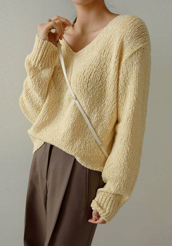 I Say Why Not Knit Sweater