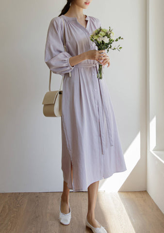Live In The Country Puff Shoulder Dress