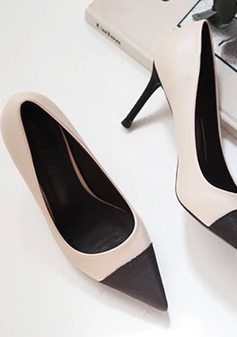 Pause Color Block Pointed Heels