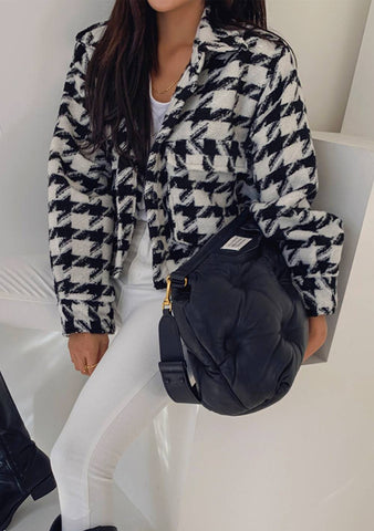 The Sparkles In Your Life Houndstooth Jacket