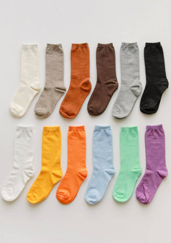 An Hurricane Of Colors High Socks