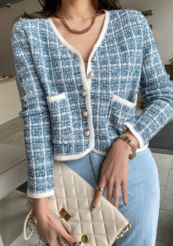 Start Before You Re Ready Tweed Cardigan