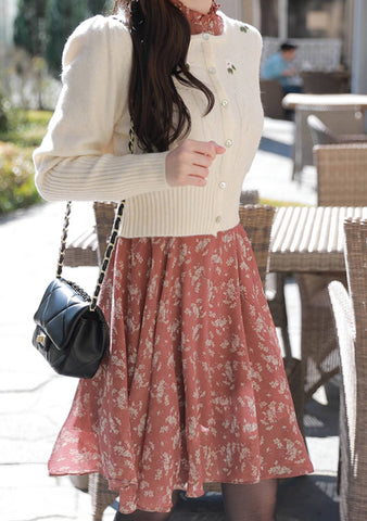 So Romantic Flower Embroidered Cardigan