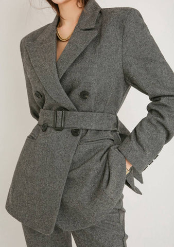 Accidentally In Love Wool Blazer Jacket
